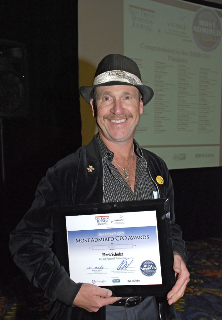 Mark Schulze award winning producer